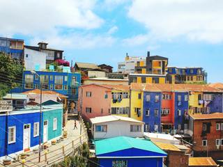 The colourful city of Valparaíso, Chile