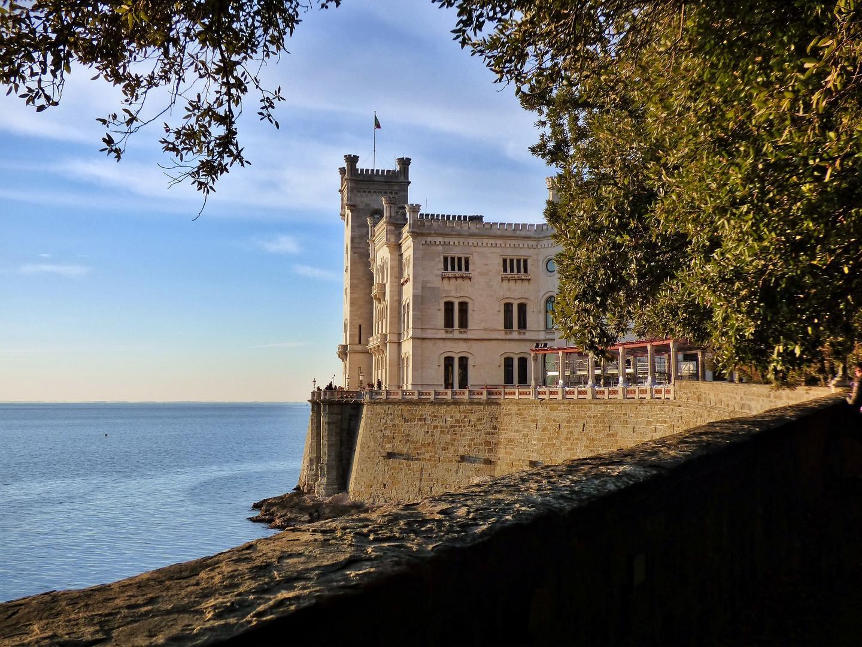 Castello di Miramare (Miramare Castle) in Trieste, Italy
