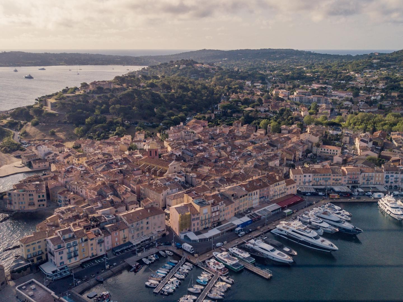 A view over Saint-Tropez, France
