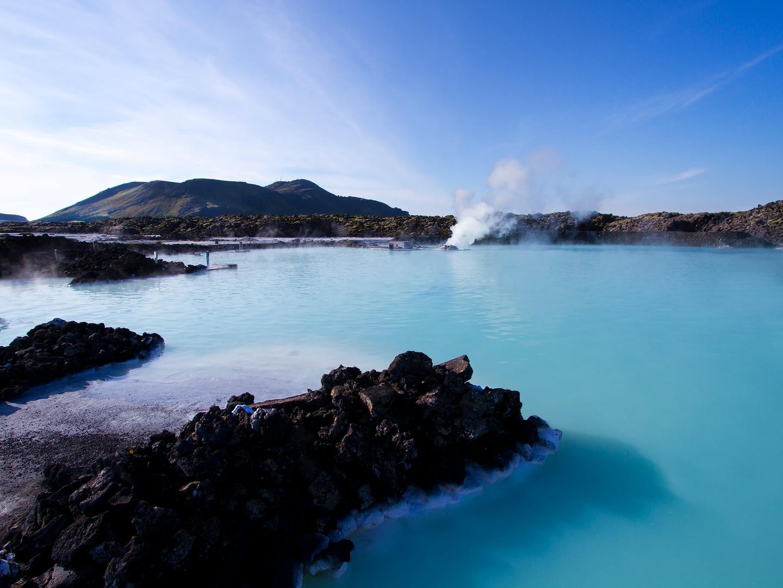 Blue Lagoon Geothermal Spa near Reykjavik, Iceland