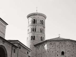 The medieval Basilica di Sant'Apollinare in Ravenna, Italy