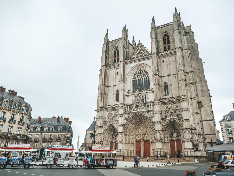 Cathedral of Saint-Pierre-et-Saint-Paul in Nantes, France