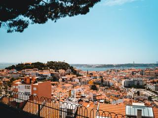 The city of Lisbon, Portugal