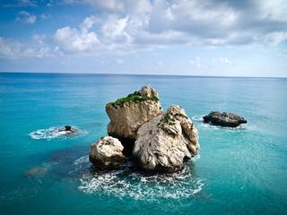 Aphrodites Rock, Limassol, Cyprus