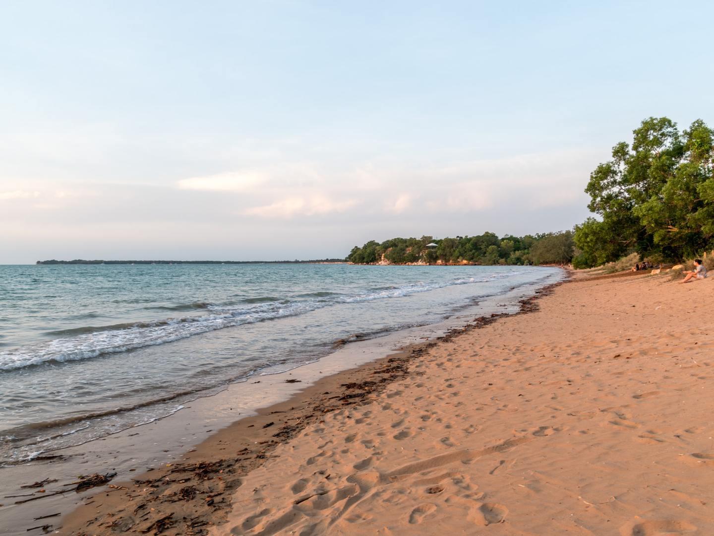 A beach in Dawin, Australia