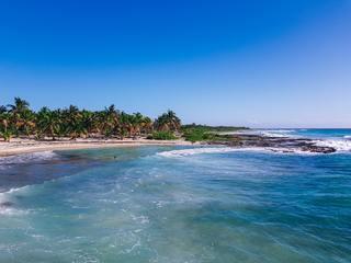 A beach in Costa Maya, Mexico