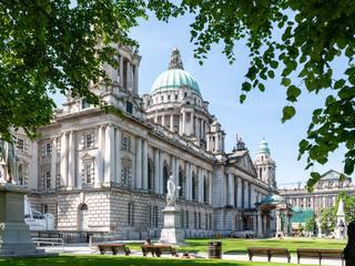 City Hall in Belfast, United Kingdom