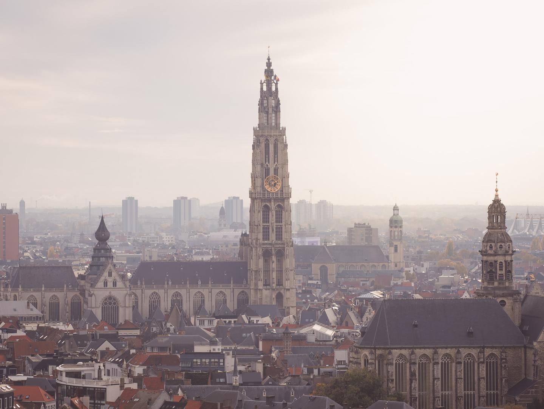 Cathedral in Antwerp, Belgium