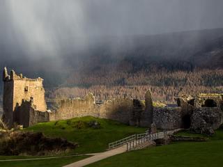 Urquhart Castle, Loch Ness in Scotland