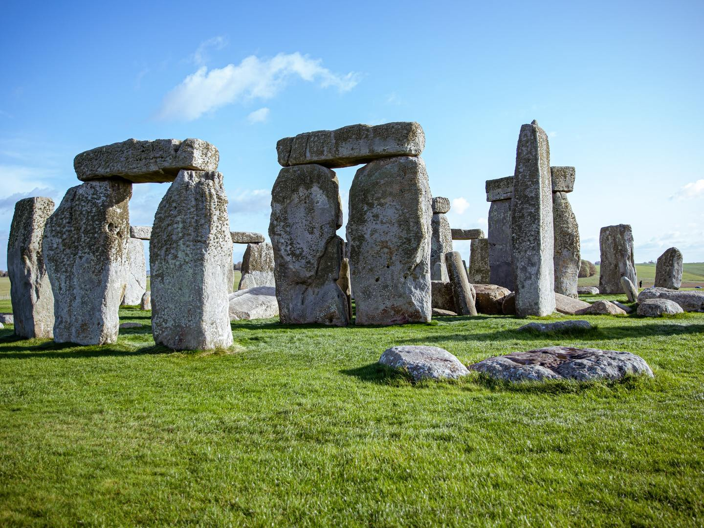 The iconic Stonehenge is accessible from the port of Portland, UK
