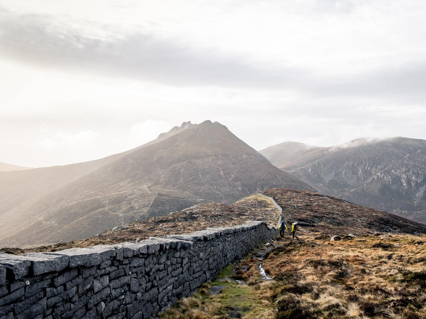 The Mourne Mountains near Newry in Northern Ireland