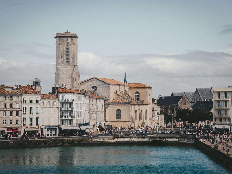 The town of La Rochelle, France