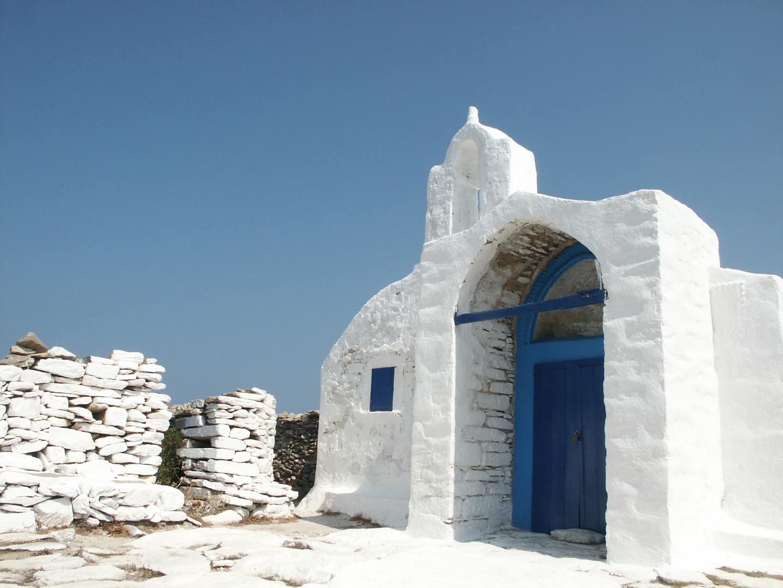 The island of Amorgos, Greece