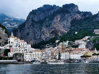The town of Amalfi, Italy