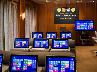Photo of the Digital Workshop powered by Windows