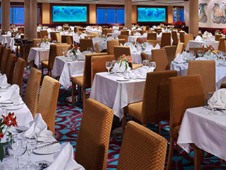 Photo of the Aqua Main Dining Room