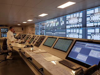 Photo of the Energy Saving Technology Onboard