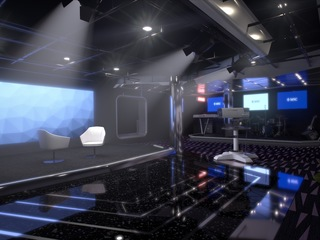 Photo of the TV Studio and Bar